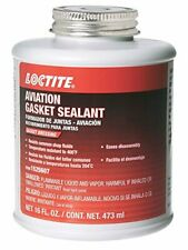 New listing Loctite 1525607 1 Pack Aviation Gasket Sealant 16oz Brush Top Can