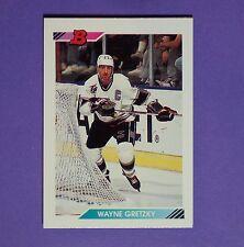 WAYNE GRETZKY  1992/93 Bowman #1  Los Angeles Kings  Edmonton Oilers  Hart  HOF