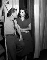 OLD CBS RADIO PHOTO Elizabeth Taylor Mickey Rooney in National Velvet Show 2
