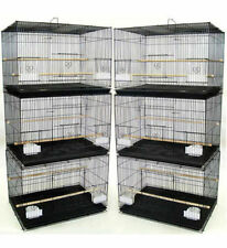 Lot of 6 Aviary Breeding Breeder Bird Cages 24x16x16--2423 Black - 400