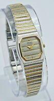 Women's Vintage SEIKO Silver w/ Gold Accents Dress Watch, Quartz 7320-5499 (P/R)