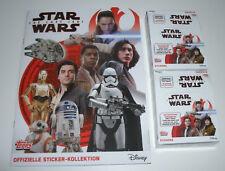 TOPPS Star Wars Sticker gli ultimi cavalieri Jedi-album + 2 x display/60 Sacchetti