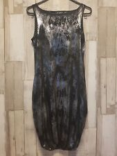 L' ART By RIVER ISLAND Metallic/Foil Print Dress Size 6
