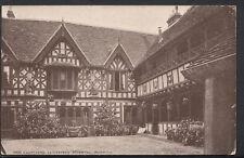 Warwickshire Postcard - Courtyard, Leicester's Hospital, Warwick    B2468