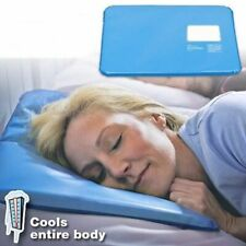 Sleeping Pad Pillow Aid Mat Cooling Therapy Gel Muscle Relax Relief Bed Stress