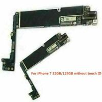 For iPhone 7/7 Plus 128GB 32GB Logic Board Main Motherboard Unlocked Repair Part