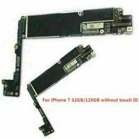 For iPhone 7/7 Plus 128GB 32GB Logic Board Main Motherboard Unlocked Repair Part