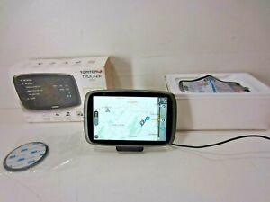 TomTom TRUCKER 600 GPS Unit w/Box, Mount Bundle