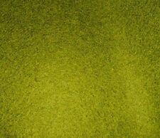 OFFCUT CAMIRA BLAZER OLIVE GREEN  WOOL FABRIC 98 CMS X 140 CMS  UPHOLSTERY