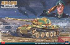 HASEGAWA Die Erzahlung Des Schwarzen Ritters KING TIGER 1/35 Plastic model
