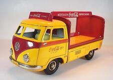 TippCo TCO Tipp & Co 020 Blech VW T1 Coca Cola Lieferwagen mit Friktion 50er Jh.