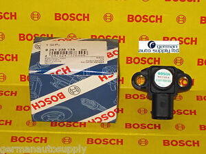 Mercedes-Benz Manifold Absolute Pressure Sensor - BOSCH - 0261230189 - NEW MAP
