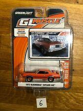 1/64 GreenLight GL Muscle 1972 Oldsmobile Cutlass 442