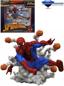 Diamond Select Toys Marvel Gallery Pumpkin Bomb Spider-Man PVC Diorama New