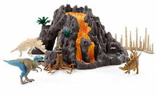 Schleich 42305 Riesenvulkan mit T-rex
