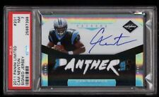 2011 Panini Limited Die-Cut Cam Newton ROOKIE RC AUTO PATCH /199 PSA 7 Panthers