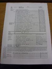 02/08/2012 teamsheet: AEREI DI LINEA Stoccolma V LECH POZNAN europa league [] (2 FOGLI, cop