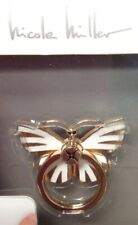 Nicole Miller Phone Accessory Kick Stand Butterfly Beautiful Detail