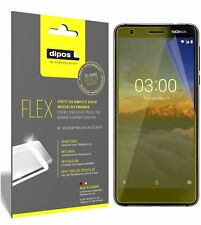 3x Nokia 3.1 Screen Protector Protective Film covers 100% dipos Flex