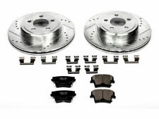 For 2014-2016 Dodge Charger Brake Pad and Rotor Kit Rear Power Stop 36265WN 2015