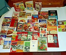 Cookbook Vtg Antique Culinary Kid's cooking Food Recipes Estate Old Value $500+