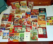 Cookbook Vtg Antique Culinary Kid's cooking Food Recipes Estate Old Value $500+