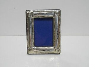 vintage small 925 silver photo frame only 5 x 6.5 cm
