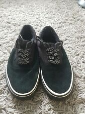 Vans Size 5 Black Suede Classic Shoe Skate Shoes