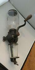 ARCADE Crystal No. 3 Coffee Grinder with Catch Cup Original Handle Antique!