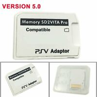 V5.0 SD2VITA PSVSD Pro Adapter For PS Vita Henkaku 3.60 Micro SD Memory Card SMA