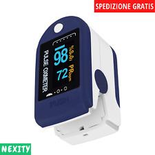 Nexity™ Pulsossimetro da Dito - Saturimetro da Dito Portatile Professionale