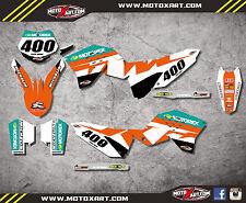 KTM SX SXF 2007 - 2010 RECKLESS style sticker kit / decals / graphics / stickers
