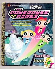 PowerPuff Girls in Big,Terrible Trouble-McCracken(1999, Golden Book) Cartoon