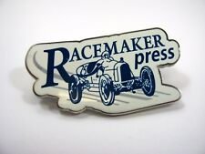 Collectible Pin: Racemaker Press Antique Car Design