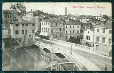 Treviso Città Ponte San Martino Farmacia cartolina VK1698