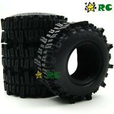 "4pcs RC Crawler 1.9 Mud Slingers Tires 93mm Fit 1.9"" Beadlock Wheels"