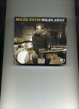 MILES DAVIS - MILES AWAY - 3 CDS - NEW!!