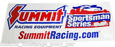 "Summit ANDRA Drag Racing Banner 96"" x 36"" Edelbrock ARP NOS Holley ICE Ignition"