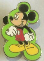 Mickey GREEN Expressions Booster disney  pin V