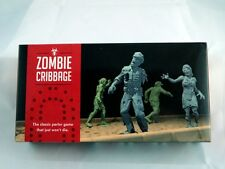 Zombie Cribbage Halloween Theme Cards and Board Game Ready to Play Gift