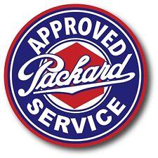 PACKARD AUTHORIZED SERVICE SUPER HIGH GLOSS OUTDOOR 4 INCH DECAL STICKER