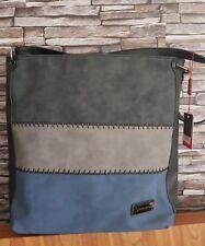 New Designer PIERRE CARDIN Black Grey Navy Tote Bag Hobo Handbag Ladies Gift £70