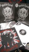 MoTorHead England 1978 RoundHouse LP Iron Horse On Parole Lemmy Fast Eddie Phil