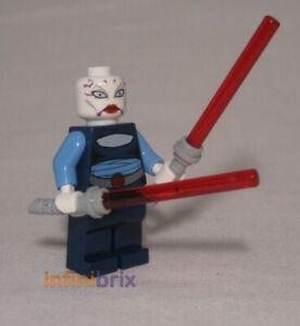 Lego Asajj Ventress Minifigure (No Skirt) from set 7676 Star Wars NEW sw195