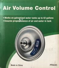 Pro Plumber Air Volume Control - PPAV45 - for tanks up to 42 gallons - NEW