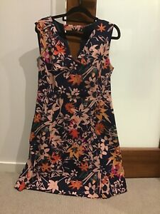 DAVID LAWRENCE FLORAL DRESS, size 12 (new without tags)