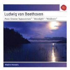 VLADIMIR H. BEETHOVEN - KLAVIERSONATEN APPASSIONATA MONDSCHEIN WALDSTEIN  CD NEU