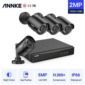 ANNKE 8+2CH 5MP Lite DVR 3000TVL CCTV Camera Ouotdoor Security System Night IP66