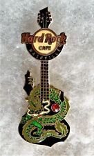HARD ROCK CAFE NASHVILLE DRAGON GUITAR SERIES DRAGON WITH GEM PIN # 65455