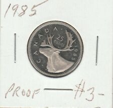 Canada 1985 25 Cents Proof